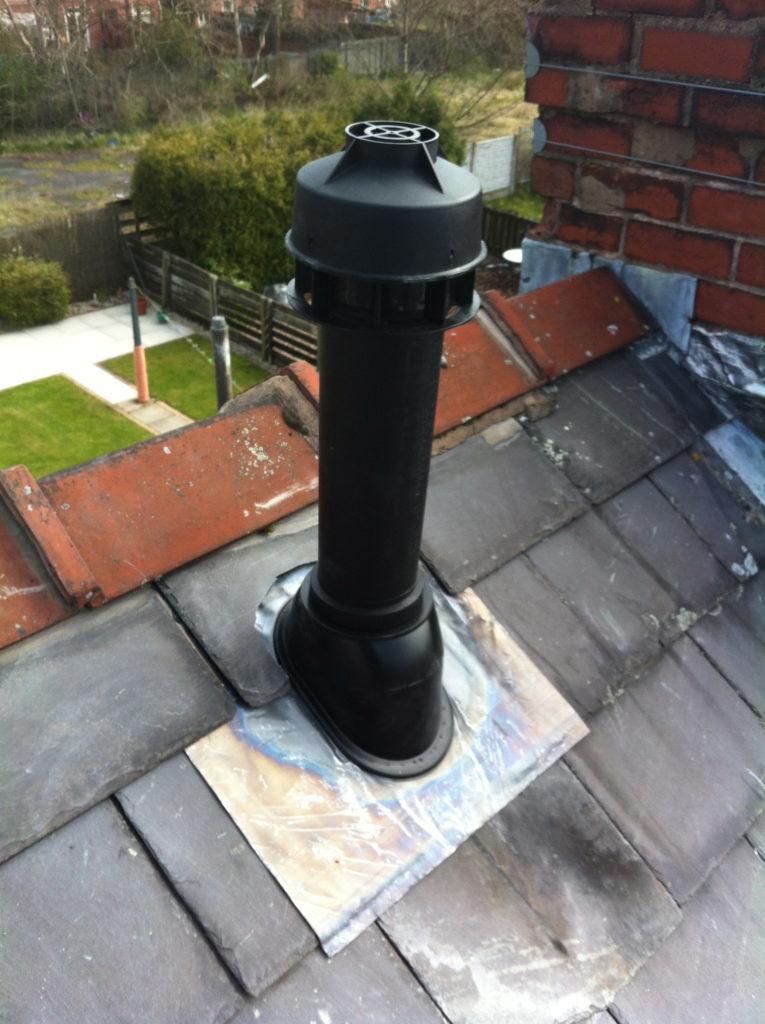 Vertical Flue Standish Property Maintenance Amp Pest Control